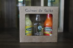 Kit coisas de Goiás